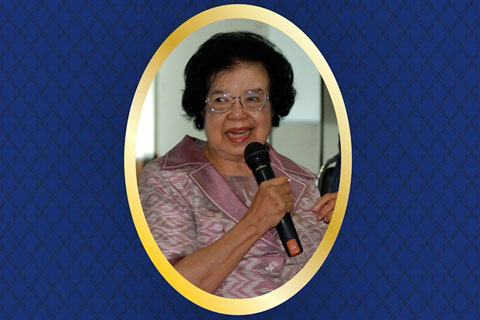 2557 ศาสตราจารย์เกียรติคุณ แพทย์หญิง ม.ร.ว.จันทรนิวัทน์ เกษมสันต์